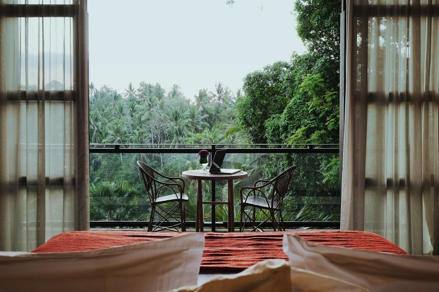 Bisma Eight Forest Suite View