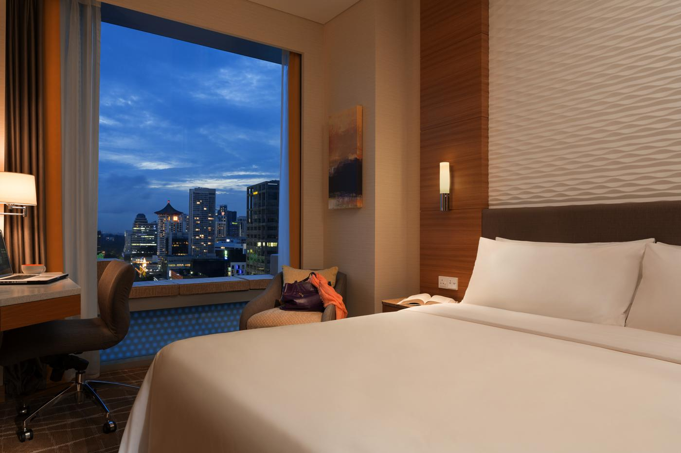 Hotel Jen Orchard Gateway Superior Room City View