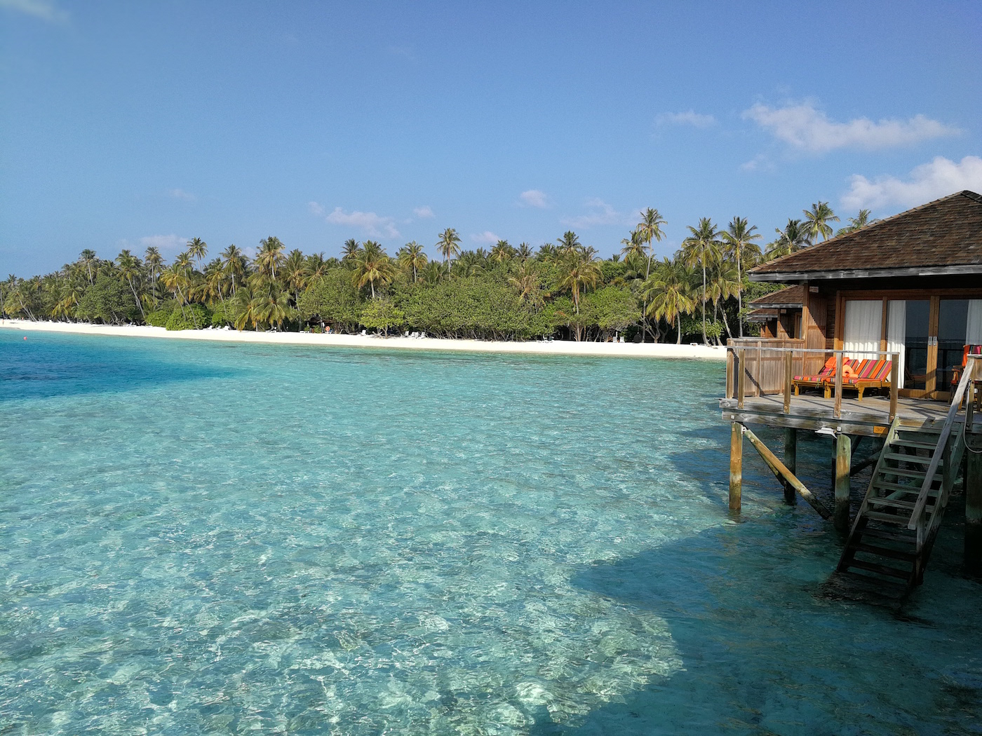 Meeru Clear waters and white sandy beaches