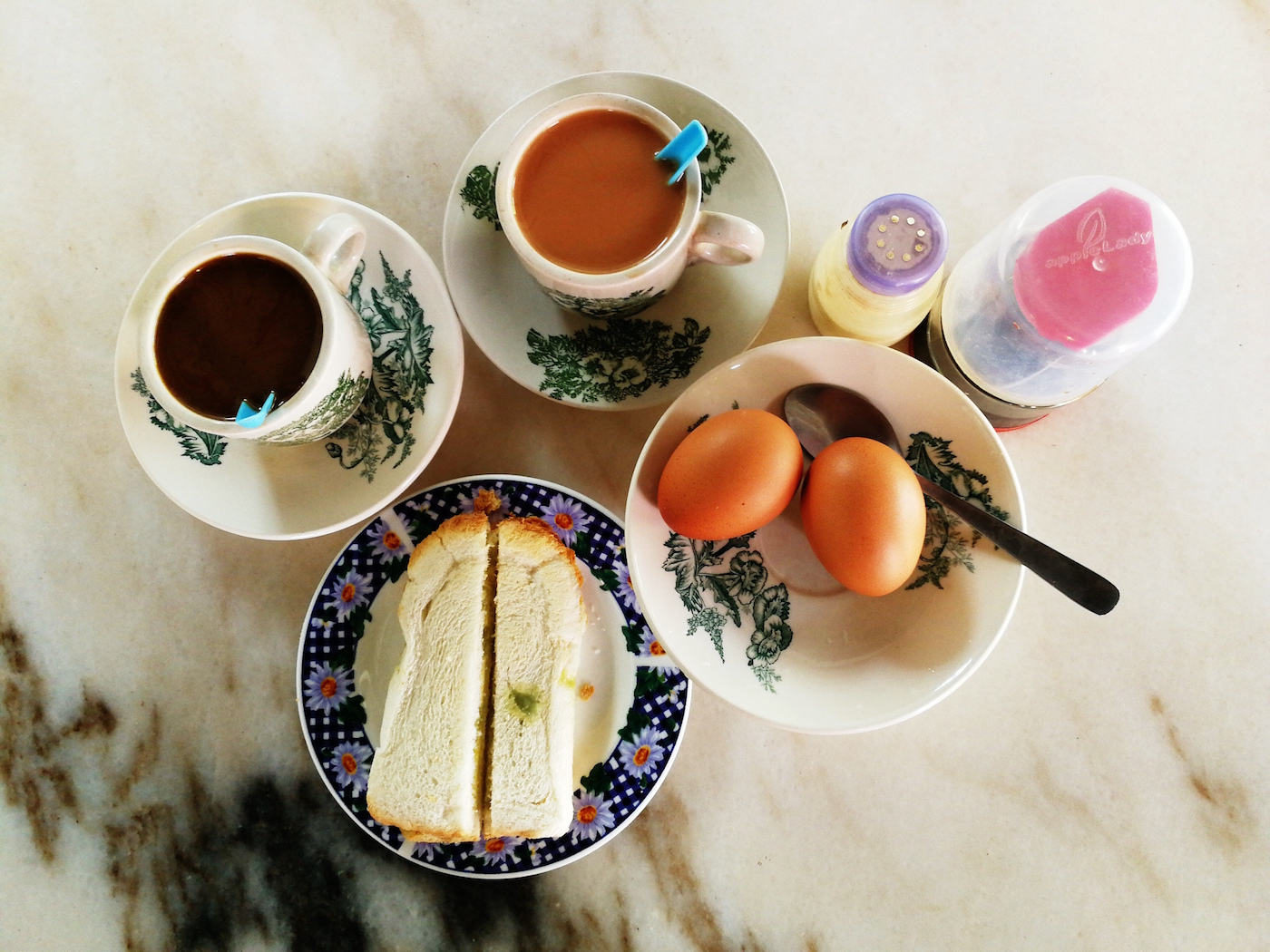 Jonker Cafe Coffee, Toast and Eggs