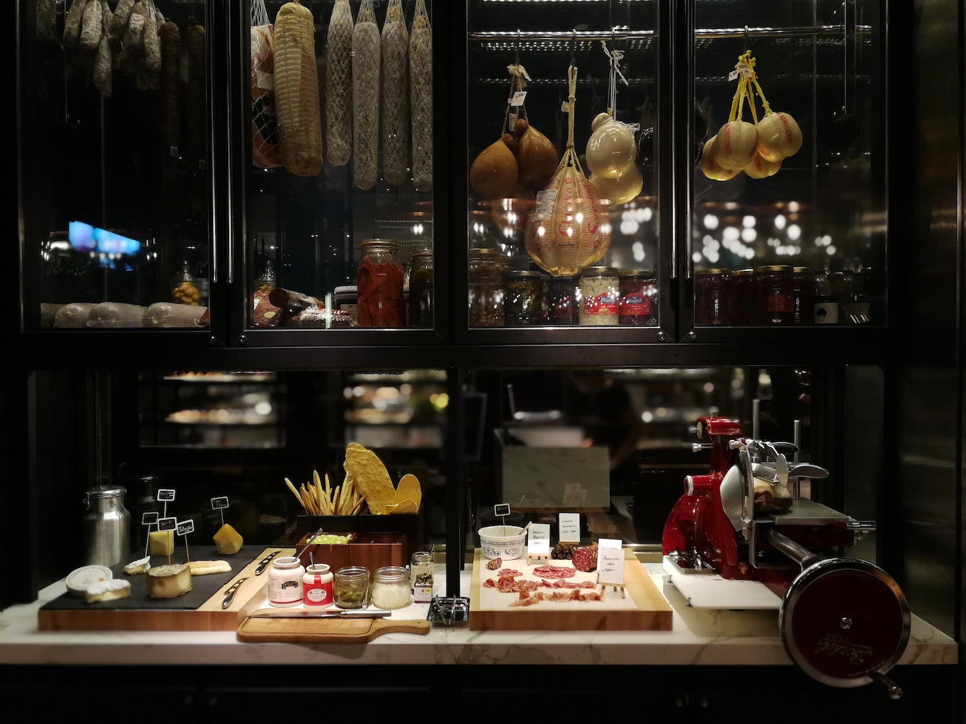 Beach Road Kitchen Charcuterie and Cheese display