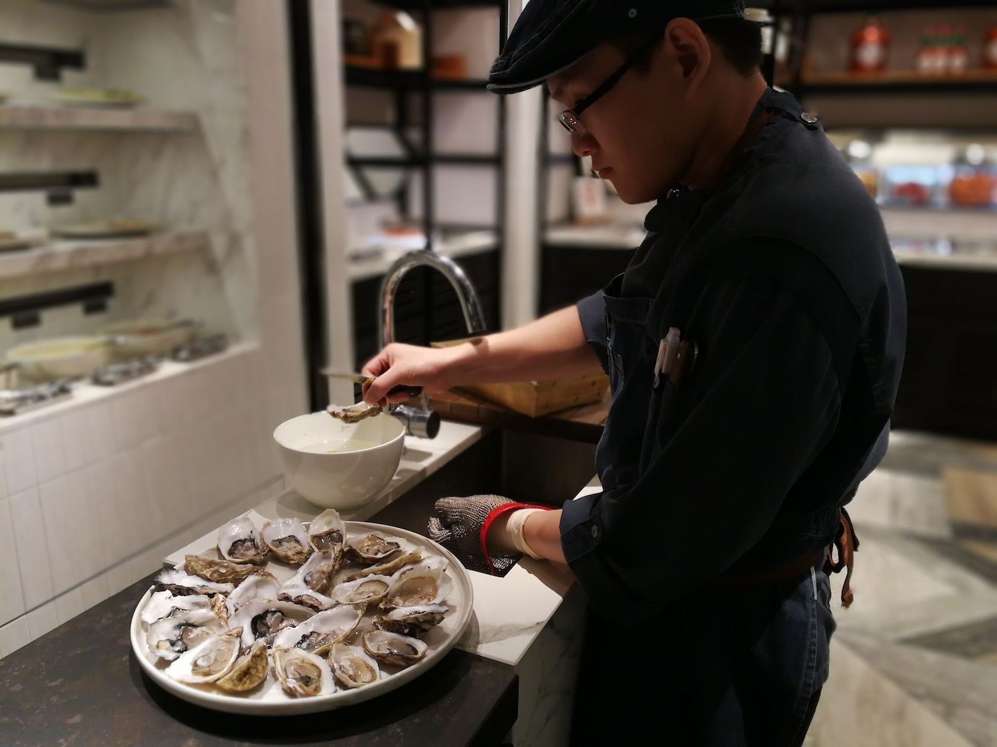 Beach Road Kitchen Freshly Shucked Oysters